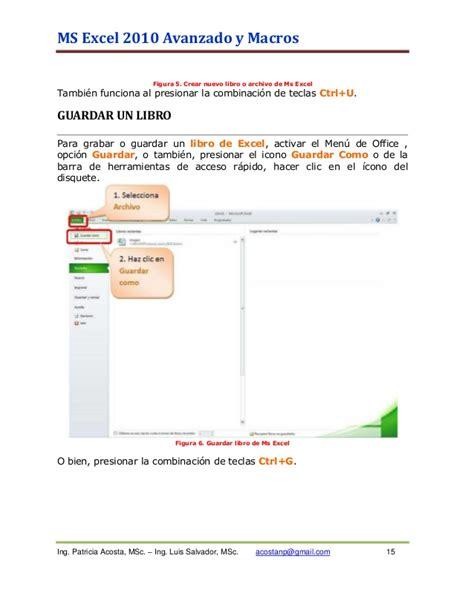 tutorial excel 2010 basico pdf descargar tutorial excel 2010 espa 241 ol gratis manual