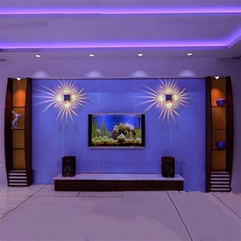 led wall lights ktv christmas decorate ls led indoor