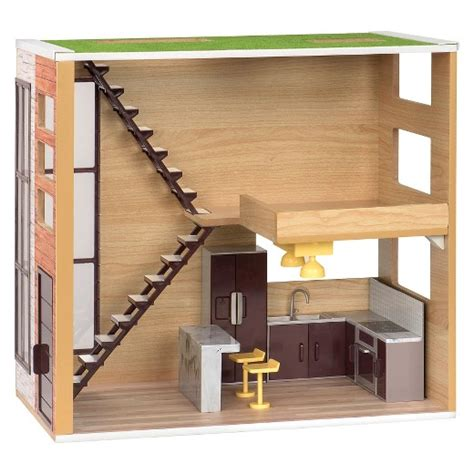 our generation doll house furniture lori loft to love dollhouse target