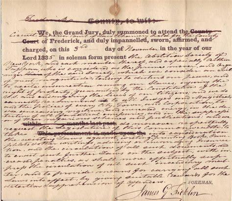 York County Va Arrest Records Commonwealth Of Virginia Versus Abolitionism