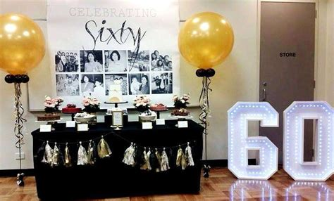 60th Birthday Giveaways Ideas - 60th birthday party ideas