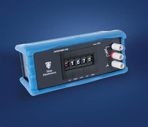 power resistor decade box 1070 capacitance decade box time electronics