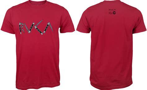 Tshirt Baju New Balance rvca switchblades t shirt