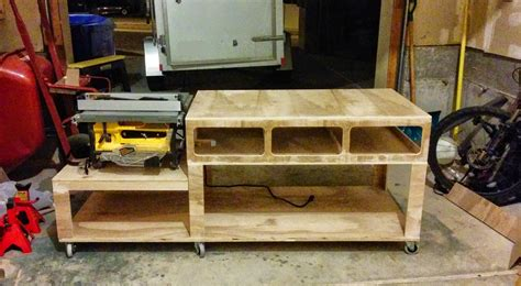 diy saw bench diy workbench with table saw