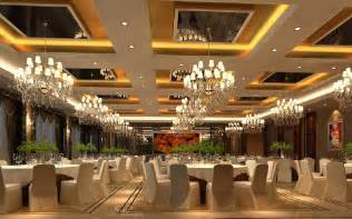 Pillar Designs For Home Interiors 3d interior banquet hall suspended ceiling and chandeliers