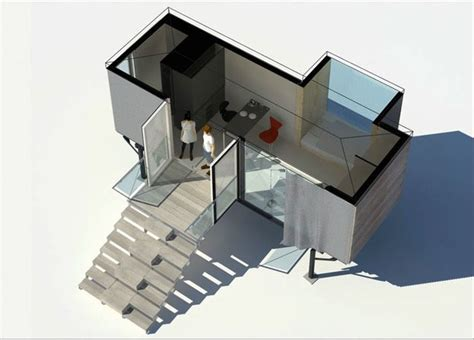 Glidehouse Floor Plans by Simple Home A Tiny House Set On Legs In Austria