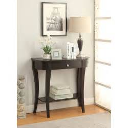 Entrance Console Table Convenience Concepts Newport Entryway Console Table Finishes Walmart
