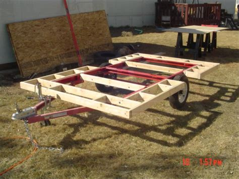 home built trailer plans my home built cer trailer week one youtube