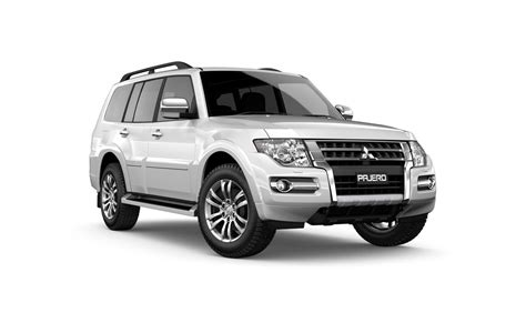 mitsubishi white pajero 4wd turbo diesel cars for sale john oxley mitsubishi