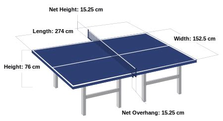 Meja Pingpong Standard table tennis