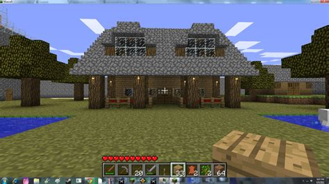 Minecraft Cabin House by Log Cabin Minecraft Project