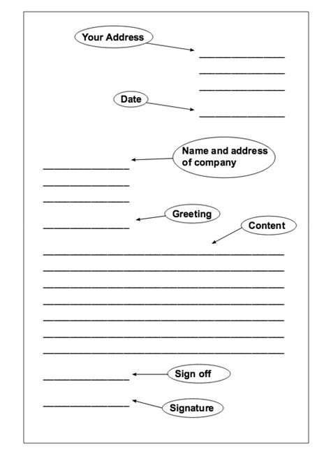 template formal letter httpresumesdesigncom