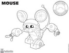free coloring pages of komodo animal mechanicals