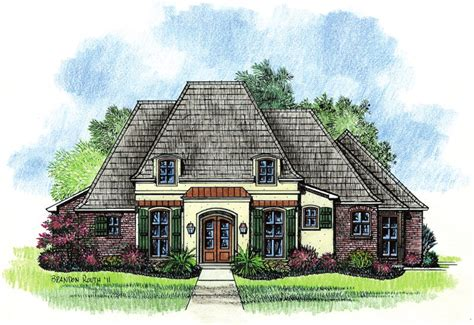 country french house plans adele country french home plans louisiana house plans