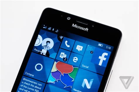Microsoft Lumia Android microsoft lumia 950 review the verge