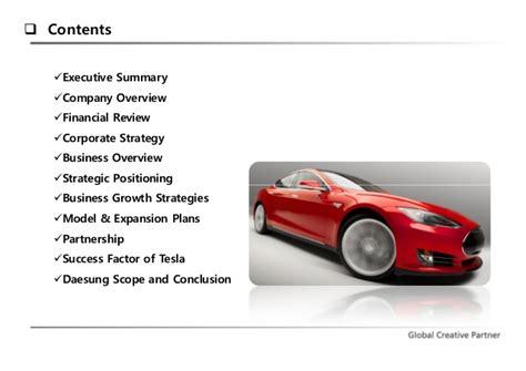 Tesla Overview Tesla Analysis 2014