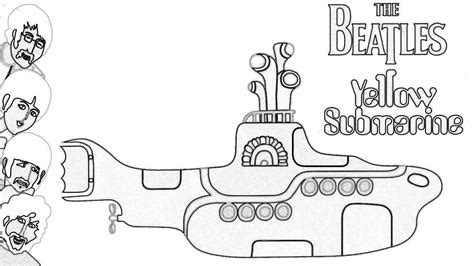coloring pages yellow submarine yellow submarine coloring pages coloring home
