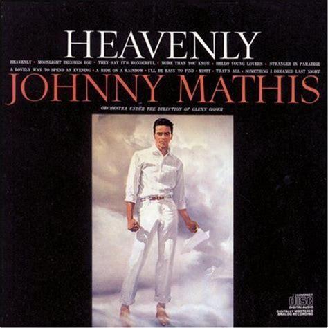 johnny mathis album covers heavenly album cover