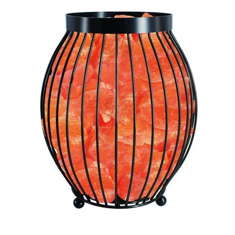 himalayan natural salt basket l himalayan glow 8 3 in ionic crystal natural salt oval
