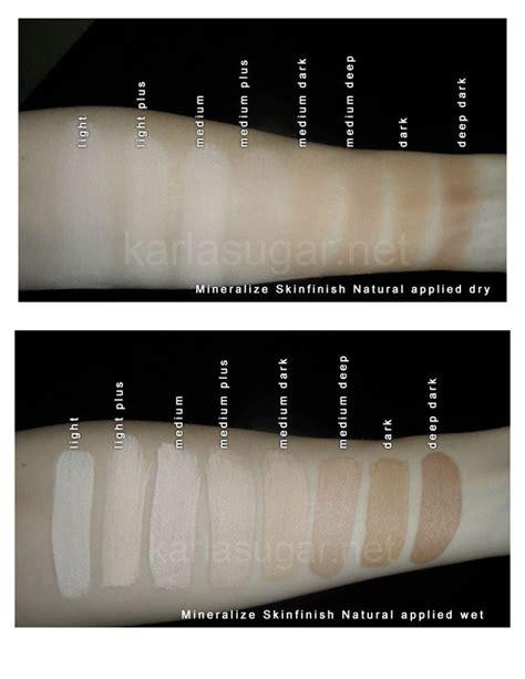 Mac Mineralize Skinfinish mac mineralized skin finish makeup swatches