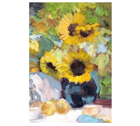 Sunflower Rug Pottery Barn by Sunflowers With Pottery Barn