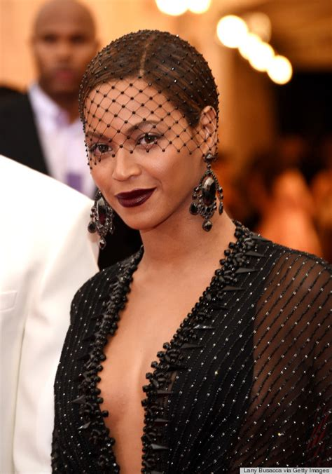 Lipstik Purbasari Met beyonce s met gala 2014 dress is sheer fabulousness huffpost