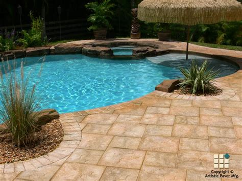 swimming pool pavers pool pavers photo gallery artistic paver mfg