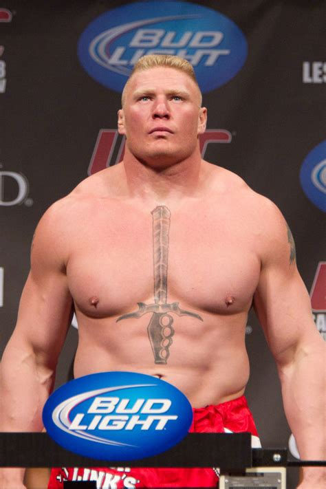 brock lesnar chest tattoo what mma fighter has the best tattoos mma