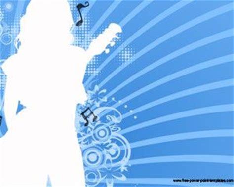 template powerpoint karaoke music girl powerpoint template ppt template
