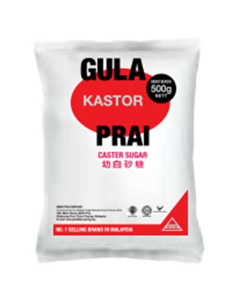 Gula Kastor Caster Sugar 1kg white sugar msm malaysia holdings berhad