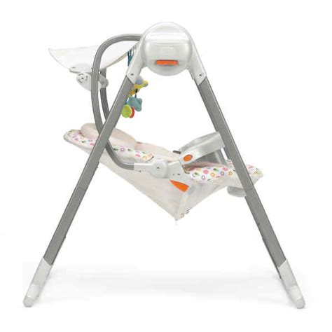 chicco baby swing chicco babyschaukel polly swing up flower power