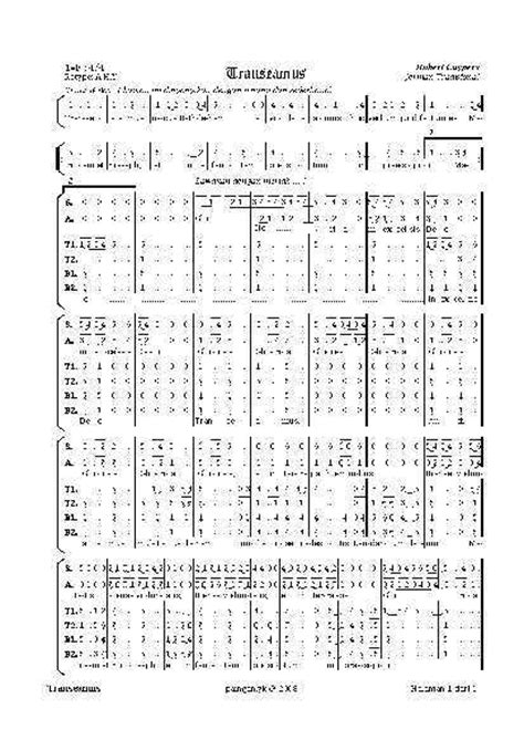 transeamus madah liturgi