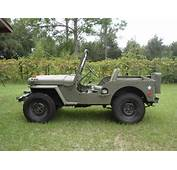 1951 Willys Jeep Value M38 Military