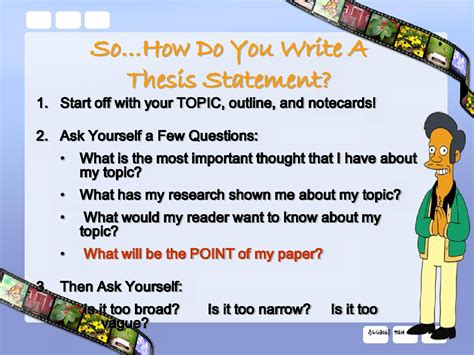 Do You Need To Write A Thesis For An Mba by Do You Need A Thesis In A Descriptive Essay The Yellow