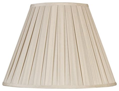 Silk Pleated L Shades by White Faux Silk Pleated Shade 8x16x12 Spider