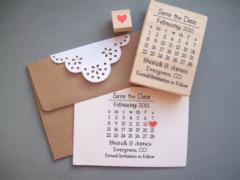 Cheap Calendar Save The Dates Save The Date St Set Diy Calendar St With By