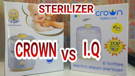 Steril Crown steril botol crown tutorial