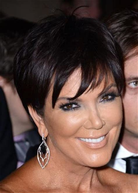 kim kardashian mom hairstyles kris jenner hair włosy pinterest kris jenner