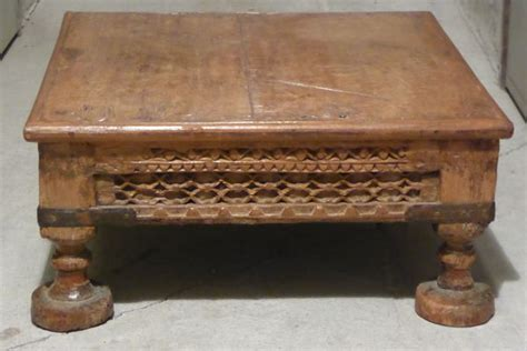 table indienne table basse indienne ancienne ezooq