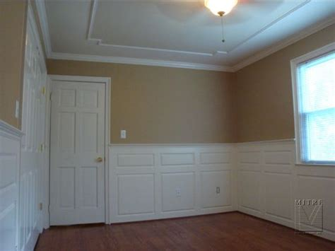 What Is Wainscoting Made Of Mitre Contracting Inc Wainscoting