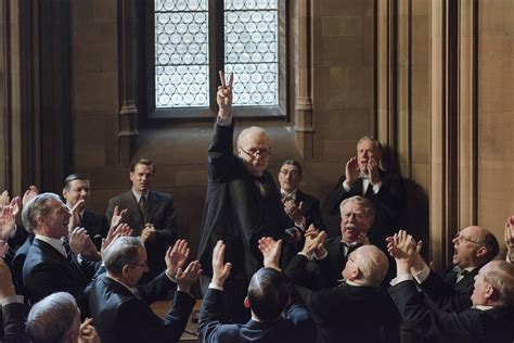 darkest hour gary gary oldman is winston churchill in first trailer for