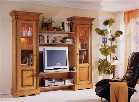 m bel landhausstil wohnzimmer anbauwand wohnwand wohnzimmer tv regal landhausstil kiefer