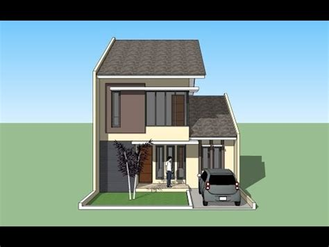 house design tutorial  sketchup youtube