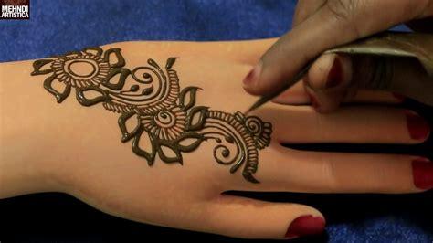 henna tattoo gulf shores marigold floral easy simple gulf henna mehndi designs