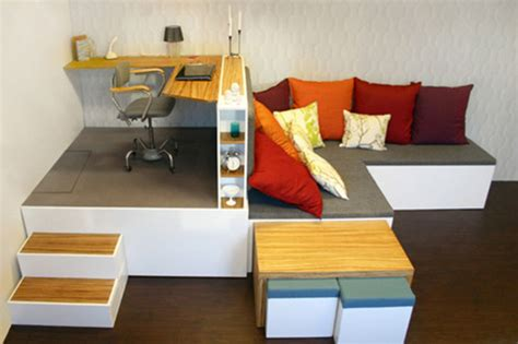 creative small home office furniture ideas design