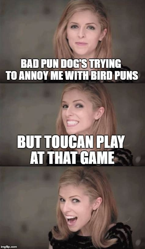 Bad Pun Meme - anna kendrick pun dog www pixshark com images