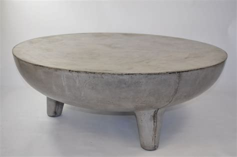 concrete coffee tables greer light concrete coffee table mecox gardens