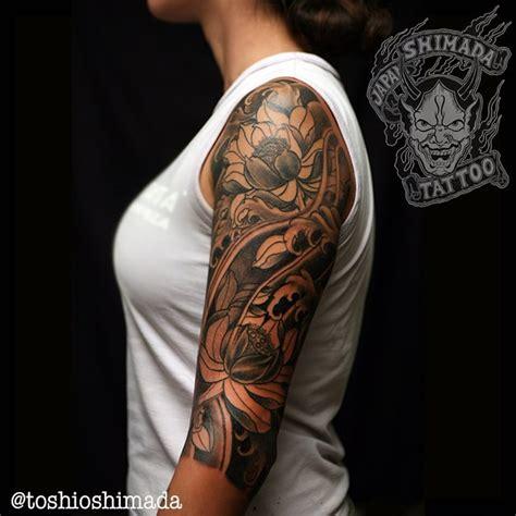 tattoo dragão oriental preto e branco a simbologia das flores na tatuagem oriental toshio shimada