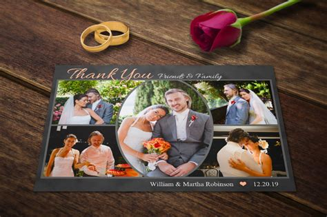 wedding thank you cards templates psd wedding marathi cards cdr templates 187 designtube