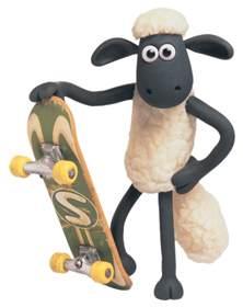 cartoon characters shaun sheep png